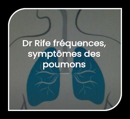 Fréquence vibratoire , symptômes du poumon