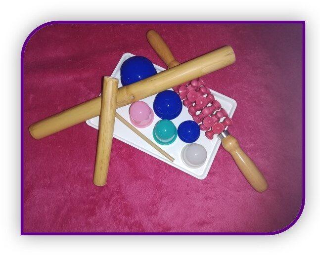 Massage Minceur aux bambous, turbinada, ventouses